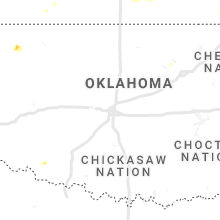 Regional Hail Map for Oklahoma City, OK - Thursday, July 15, 2021