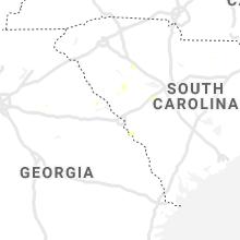 Regional Hail Map for Augusta, GA - Friday, July 16, 2021