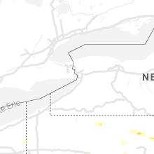 Regional Hail Map for Buffalo, NY - Friday, July 16, 2021
