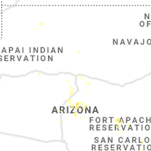 Regional Hail Map for Flagstaff, AZ - Friday, July 16, 2021