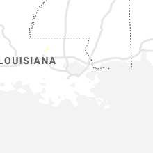 Regional Hail Map for New Orleans, LA - Friday, July 16, 2021