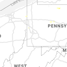 Regional Hail Map for Pittsburgh, PA - Friday, July 16, 2021