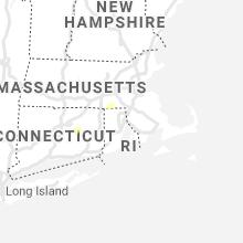 Regional Hail Map for Providence, RI - Friday, July 16, 2021