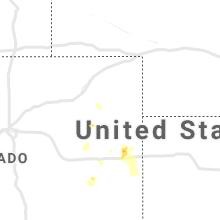 Regional Hail Map for Yuma, CO - Friday, July 16, 2021