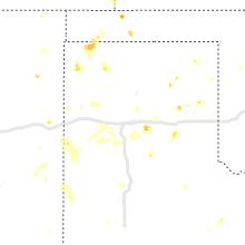 Regional Hail Map for Amarillo, TX - Saturday, July 17, 2021