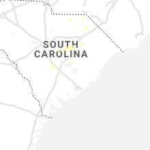 Regional Hail Map for Charleston, SC - Saturday, July 17, 2021