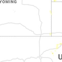 Regional Hail Map for Laramie, WY - Saturday, July 17, 2021