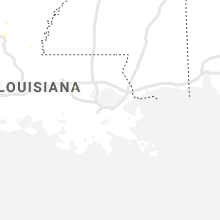 Regional Hail Map for New Orleans, LA - Saturday, July 17, 2021