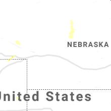 Regional Hail Map for North Platte, NE - Saturday, July 17, 2021