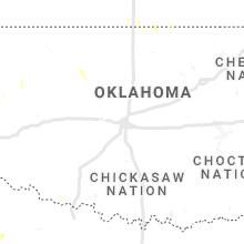 Regional Hail Map for Oklahoma City, OK - Saturday, July 17, 2021