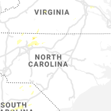Regional Hail Map for Raleigh, NC - Saturday, July 17, 2021