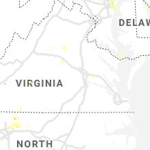 Regional Hail Map for Richmond, VA - Saturday, July 17, 2021