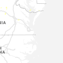 Regional Hail Map for Virginia Beach, VA - Saturday, July 17, 2021