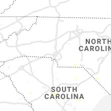 Regional Hail Map for Charlotte, NC - Sunday, July 18, 2021
