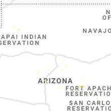 Regional Hail Map for Flagstaff, AZ - Sunday, July 18, 2021