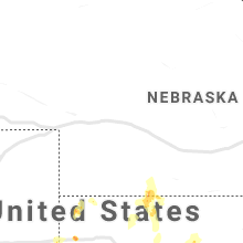 Regional Hail Map for North Platte, NE - Sunday, July 18, 2021