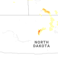 Regional Hail Map for Minot, ND - Monday, July 19, 2021