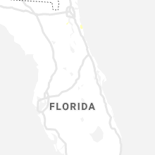 Regional Hail Map for Orlando, FL - Monday, July 19, 2021