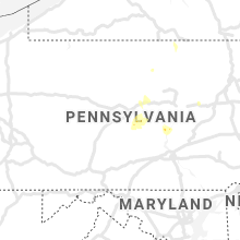 Regional Hail Map for State College, PA - Monday, July 19, 2021