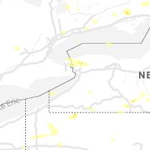 Regional Hail Map for Buffalo, NY - Tuesday, July 20, 2021