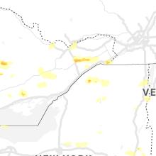 Regional Hail Map for Ogdensburg, NY - Tuesday, July 20, 2021
