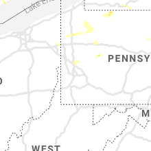 Regional Hail Map for Pittsburgh, PA - Tuesday, July 20, 2021