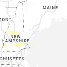 Regional Hail Map for Portland, ME - Tuesday, July 20, 2021