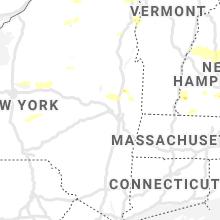 Regional Hail Map for Schenectady, NY - Tuesday, July 20, 2021