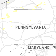 Regional Hail Map for State College, PA - Tuesday, July 20, 2021