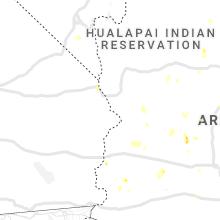 Regional Hail Map for Lake Havasu City, AZ - Wednesday, July 21, 2021