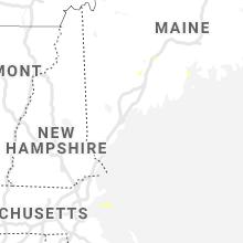 Regional Hail Map for Portland, ME - Wednesday, July 21, 2021