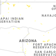 Regional Hail Map for Flagstaff, AZ - Thursday, July 22, 2021