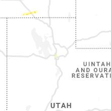 Regional Hail Map for Salt Lake City, UT - Thursday, July 22, 2021
