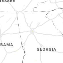Regional Hail Map for Atlanta, GA - Friday, July 23, 2021