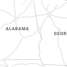 Regional Hail Map for Auburn, AL - Friday, July 23, 2021