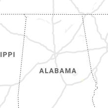 Regional Hail Map for Birmingham, AL - Friday, July 23, 2021