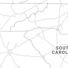 Regional Hail Map for Greenville, SC - Friday, July 23, 2021