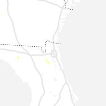 Regional Hail Map for Jacksonville, FL - Friday, July 23, 2021