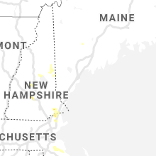 Regional Hail Map for Portland, ME - Friday, July 23, 2021