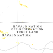 Regional Hail Map for Farmington, NM - Saturday, July 24, 2021