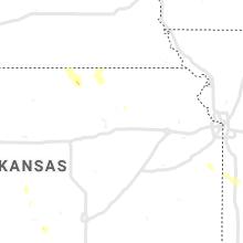Regional Hail Map for Manhattan, KS - Sunday, July 25, 2021