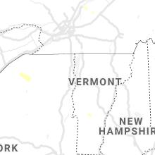 Regional Hail Map for Burlington, VT - Monday, July 26, 2021