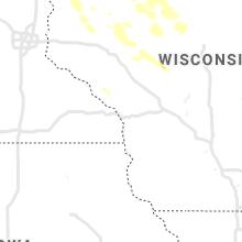 Regional Hail Map for La Crosse, WI - Monday, July 26, 2021