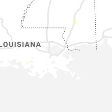 Regional Hail Map for New Orleans, LA - Monday, July 26, 2021