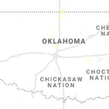 Regional Hail Map for Oklahoma City, OK - Monday, July 26, 2021