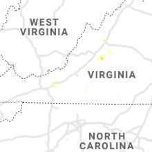 Hail Map for roanoke-va 2021-07-26