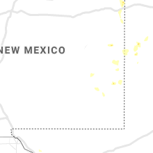 Regional Hail Map for Roswell, NM - Monday, July 26, 2021