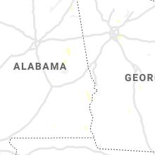 Regional Hail Map for Auburn, AL - Tuesday, July 27, 2021
