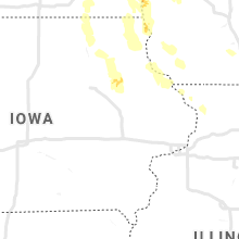 Regional Hail Map for Cedar Rapids, IA - Tuesday, July 27, 2021