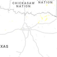 Regional Hail Map for Dallas, TX - Tuesday, July 27, 2021